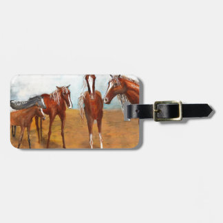 Whimsy Mustangs Luggage Tags