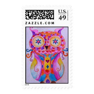 Whimsy Owl by Prisarts Postage