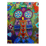 whimsy owl postcards