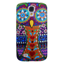 whimsy owl samsung galaxy s4 case