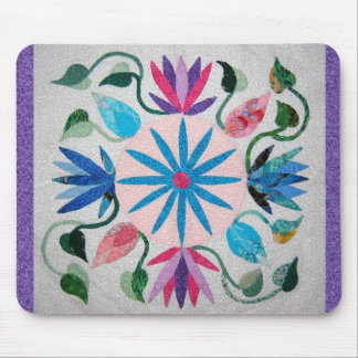 Whimsy Quilt Mouse Pad