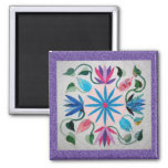 Whimsy Quilt Refrigerator Magnets