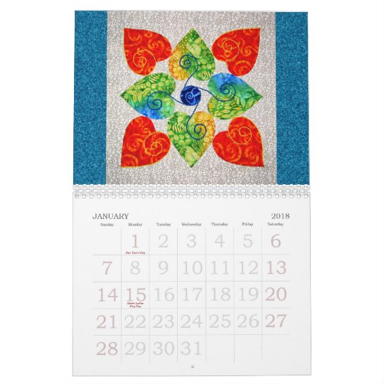 Whimsy Quilts Calendar 2009