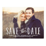Whimsy   Save the Date Postcard