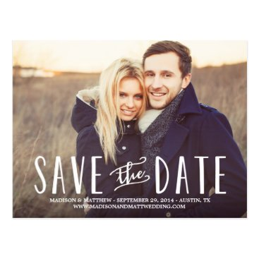 FINEandDANDY Whimsy | Save the Date Postcard