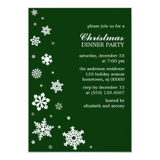 Whimsy Snowflakes Invitations at Zazzle