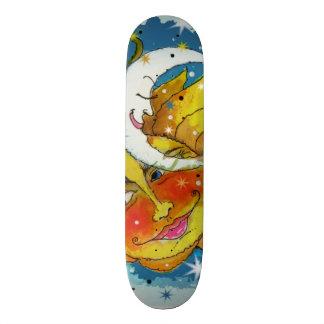 Whimsy Sun and Moon Skateboard