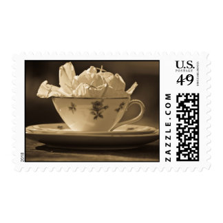 Whimsy Tea Party Stamps