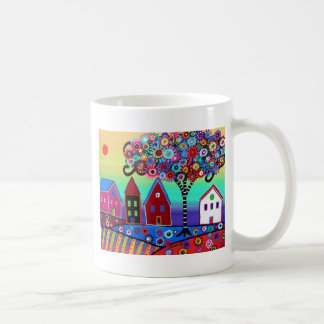 Whimsy Town By Prisarts Coffee Mug