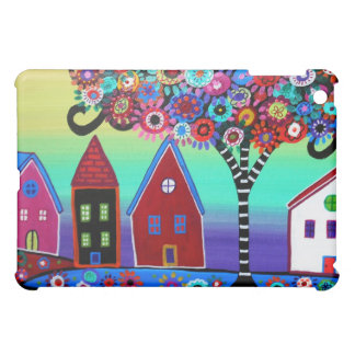 Whimsy Town By Prisarts iPad Mini Covers
