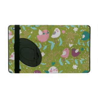 Whimsy Tweety Birds on Vines iPad Folio Cases