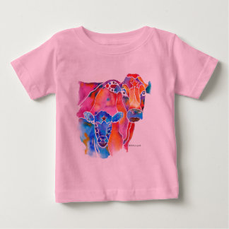 Whimzical Cow Baby T-Shirt