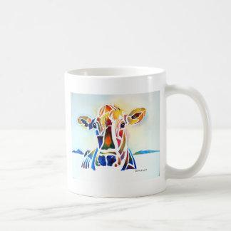 Whimzical Cow Coffee Mug