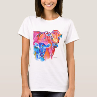 Whimzical Cow T-Shirt