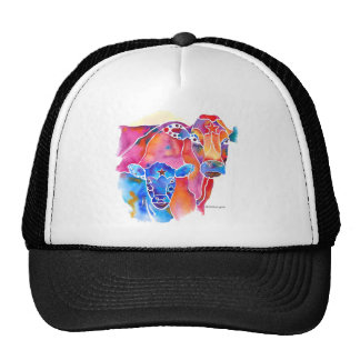 Whimzical Cow Trucker Hat