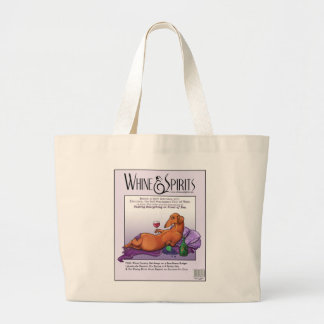 Whine and Spirits - Dacchus Jumbo Tote Bag