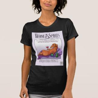 Whine and Spirits - Dacchus T Shirts