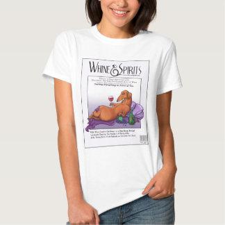 Whine and Spirits - Dacchus Tshirt