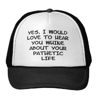 Whine Trucker Hat