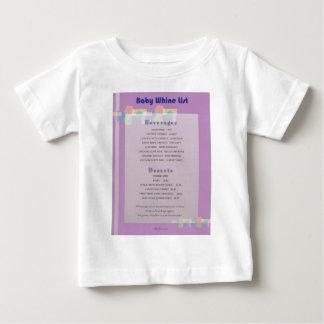 Whine List Baby T-Shirt