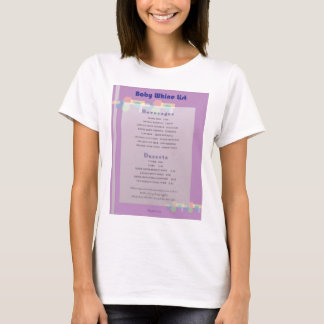 Whine List T-Shirt