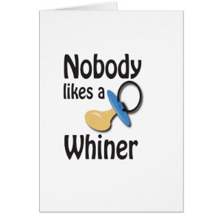 whiner card