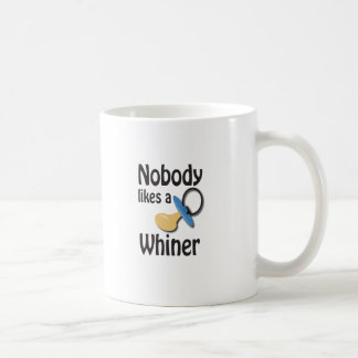 whiner taza básica blanca