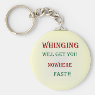 Whinging le conseguirá los llaveros de Nowhere