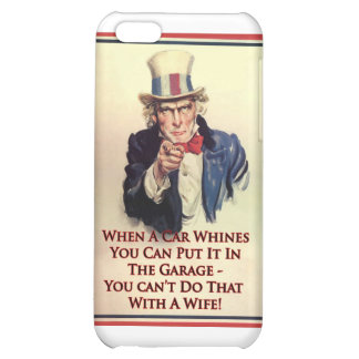 Whinging Uncle Sam Poster iPhone 5C Case