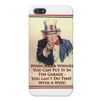Whinging Uncle Sam Poster iPhone 5 Case