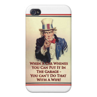 Whinging Uncle Sam Poster Covers For iPhone 4