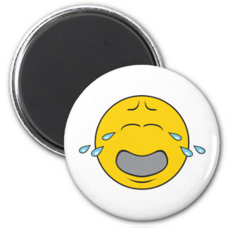 Whining Crying Smiley Face Magnets