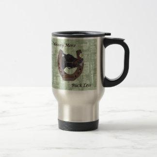 Whinny más el dólar menos caballo tazas de café
