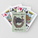 Whinny More, Buck Less Horse Card Deck