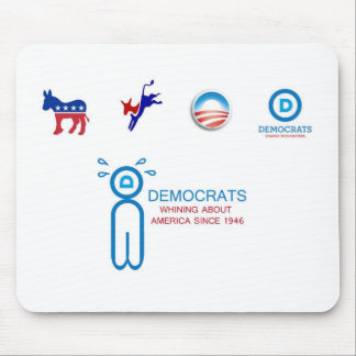 Whiny Democrats Mouse Pad