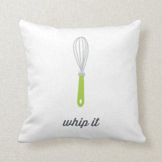 Whip It | Funny Cooking Throw Pillow