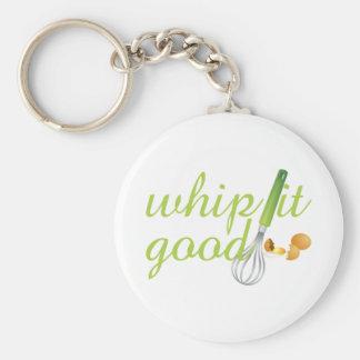 Whip It Good Keychain