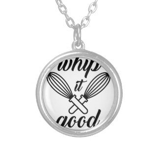 Whip It Good Silver Plated Necklace