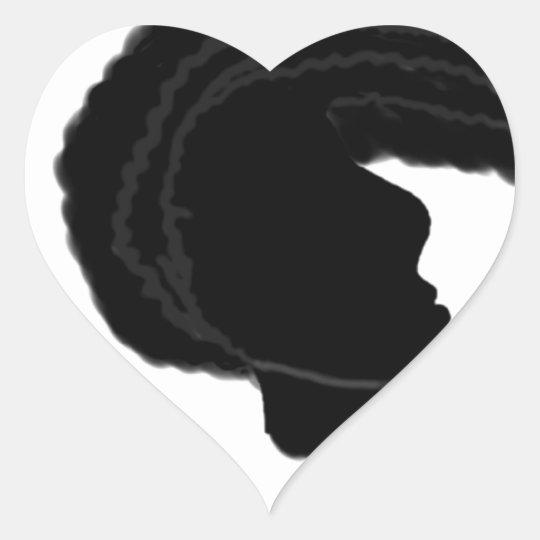 Whip it heart sticker
