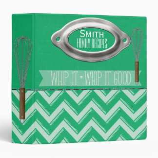 Whip it-Whip it Good Recipe Binder