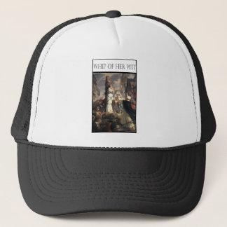 WHIP OF HER WIT -Jeanne au bucher Trucker Hat
