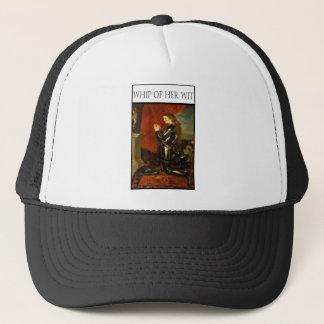 WHIP OF HER WIT- Joan de Arc Trucker Hat