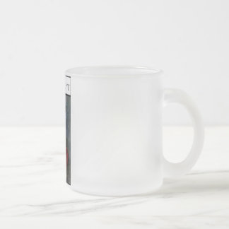 Whip Of Her Wit 10 Oz Frosted Glass Coffee Mug