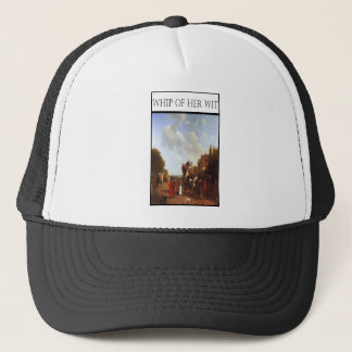 WHIP OF HER WIT- Portsmouth Road Trucker Hat
