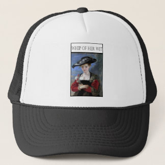 Whip Of Her Wit Trucker Hat