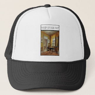 WHIP OF HER WIT- Victorian Perios Trucker Hat