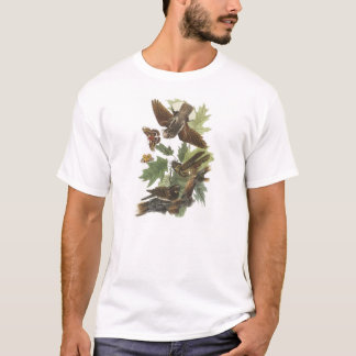 Whip-poor-will by Audubon T-Shirt