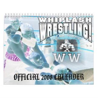 Whiplash Wrestling 2008 Calender Wall Calendar