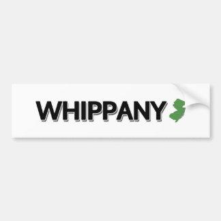 Whippany, New Jersey Bumper Sticker