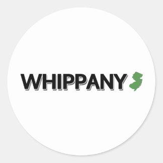 Whippany, New Jersey Classic Round Sticker